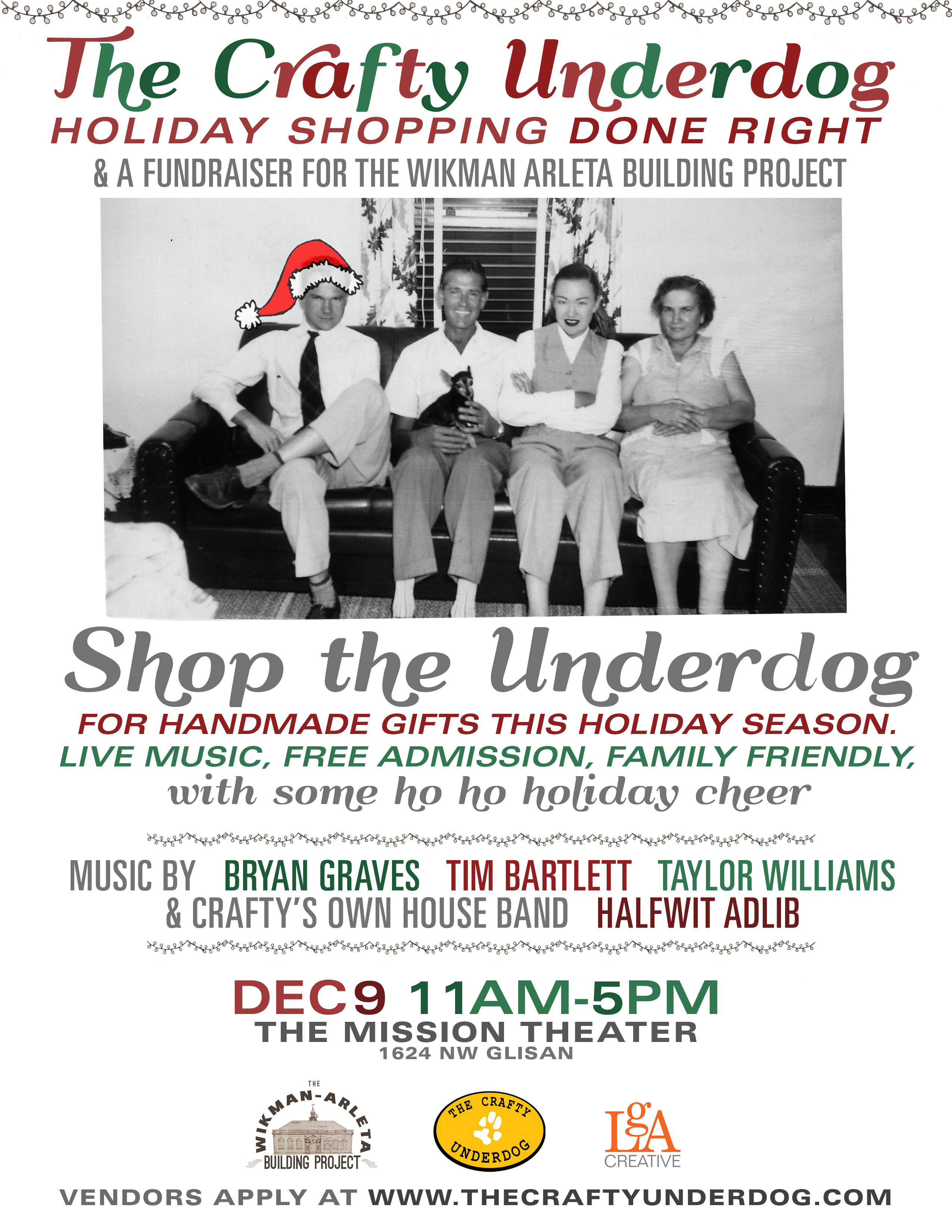 Crafty Underdog Portland Holiday Sale